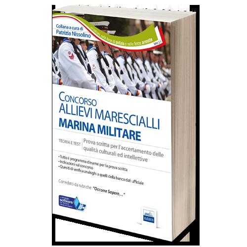 Libro Concorso Allievi Marescialli Marina