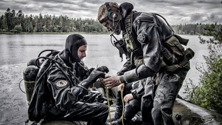 Come diventare Palombaro della Marina Militare